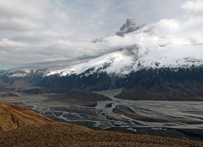 Smelten van ijskappen leidt tot vulkaanuitbarstingen