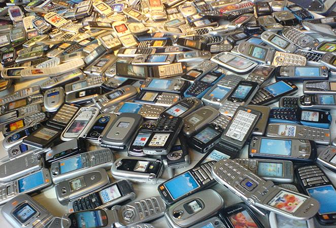 stralingen door mobieltjes