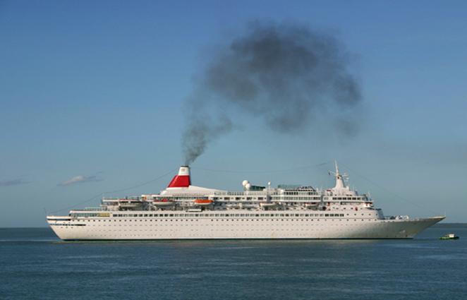 Scheepvaart is slecht voor het milieu