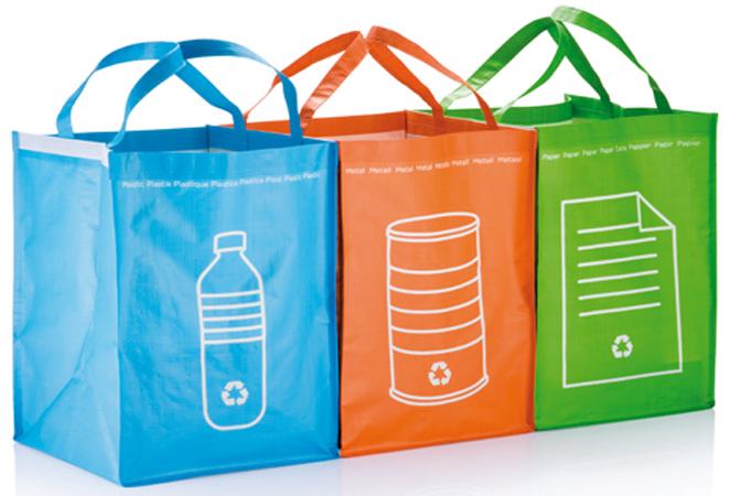 Verbod op gratis plastic tasjes