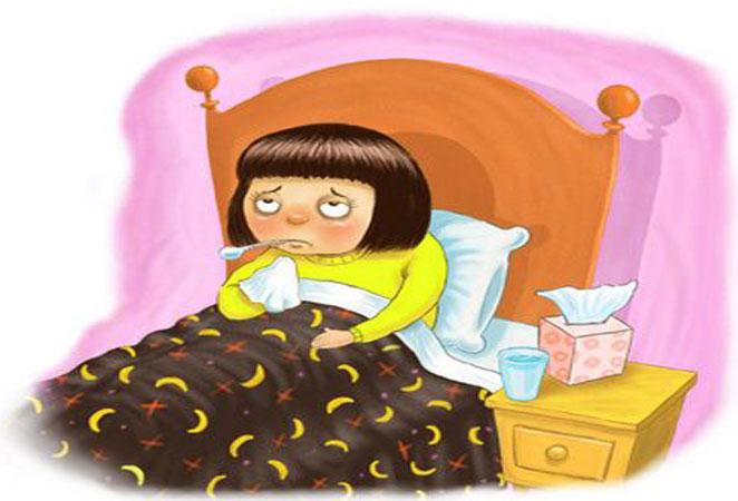 Altijd ziek